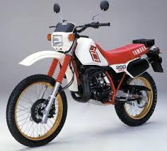 dt 200r 1984 1985 yamaha pinterest dual sport motorcycles
