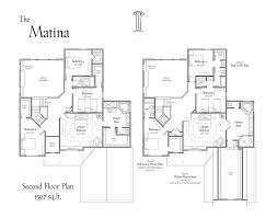 Berm House Floor Plans by The Matina Floor Plans 3 Pillar Homes