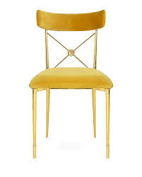 Gold Dining Chairs Adler Golden Rider Dining Chair