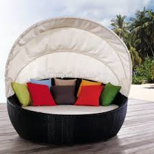 outdoor outdoor patio bed furniture round daybed cushion patio