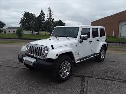 white jeep 4 door jeep wrangler 4 door in minnesota for sale used cars on