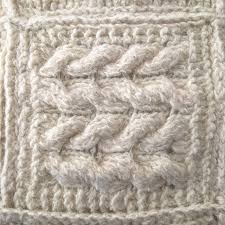 hand knitted 100 wool pillowcase cushion rustic vintage style