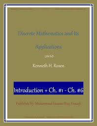 discrete mathematics and its applications 7th ed by robert