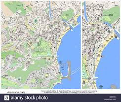 Italy Cities Map by Arenzano Italy City Map Stock Vector Art U0026 Illustration Vector