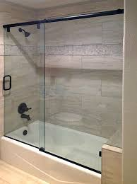 Sliding Tub Shower Doors Glass Shower Enclosures And Doors Gallery Shower Doors Of