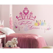impressive disney princess bedroom decor room beautiful palace disney wall decals wayfair deco princess crown giant decal baby girl themes nursery