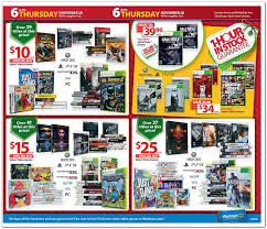 wal mart black friday ad leaked 149 ps3 99 xbox 360 99 2ds