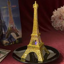 eiffel tower centerpieces eiffel tower centerpiece w gold glitter colorful led lights
