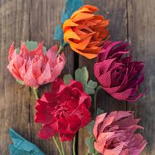 Picture Of Mums The Flowers - crepe paper mums how to make paper flowers for fall