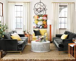 coffee table for long couch 15 ways to layout your living room how to decorate
