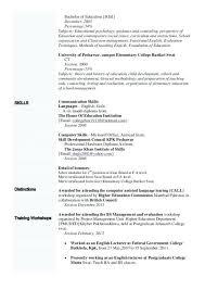 resume exles high education only disclaimer language proficiency levels resume sle skills exle more