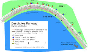 Seattle Marathon Map by Soil Liquefaction And Ground Failure Lateral Spreads