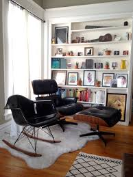 Eames Lounge Chair In Room My Mid Century Inspired Living Room Album On Imgur