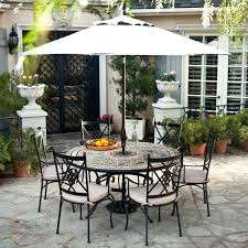 patio table and chairs with umbrella hole good patio sets with umbrella for 56 patio table umbrella hole caps