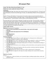 5 e lesson plan template 5e kindergarten sample