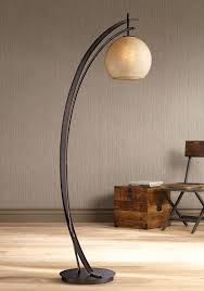 possini euro venus oil rubbed bronze metal arc floor lamp