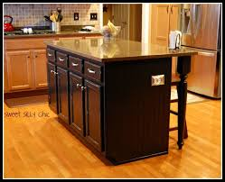 easy kitchen island kitchen diy kitchen island update sweet silly chic small