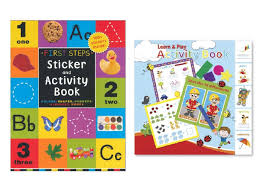 well wreapped activity books for kids