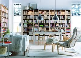 ikea bookshelves with glass doors reolvæg opbygget af ikea reoler stue living room pinterest