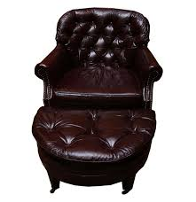 Leather Club Chair Distinction Furniture Co Vintage Leather Club Chair And Ottoman