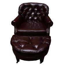 Vintage Leather Club Chair Distinction Furniture Co Vintage Leather Club Chair And Ottoman