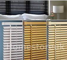 Venetian Blinds Wood Effect Grey Venetian Blinds Ebay