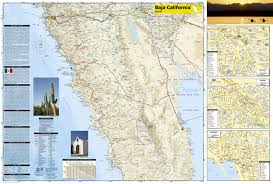 Cable Car Map San Francisco Pdf by Baja North Baja California Mexico National Geographic