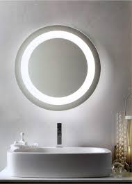 Modern Bathroom Mirrors by Home Decor Lighted Bathroom Wall Mirror Freestanding Bathtub