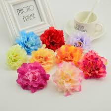 Cheap Fake Flowers 10pcs 8cm Cheap Silk Peony Head Artificial Flower For Home Wedding