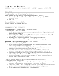 Science Teacher Resume Sample by Higher Education Resume Samples Resume For Your Job Application
