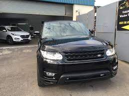 wrapped range rover sport vehicle wrap centre bristol