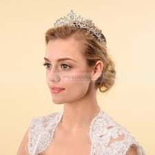 bridal tiara rhinestone heart bridal tiara