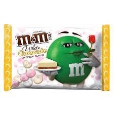 Walmart Valentine Decorations M U0026m U0027s Valentine U0027s White Cheesecake Chocolate Candy Bag 8 Oz