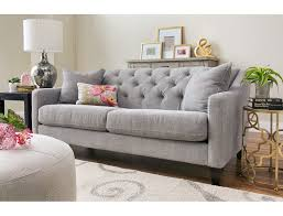 Slumberland Living Room Sets by Slumberland Solo Collection Silver Sofa