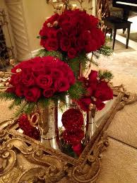 Red Rose Table Centerpieces by Red And Gold By Dezign Shop Red Pinterest Floral Arrangement