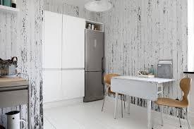 revetement mur cuisine decoration design mural cuisine salle manger revêtement mural bois