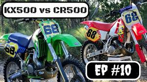 vintage motocross races kx500 vs cr500 which bike is better and lets talk vintage mx