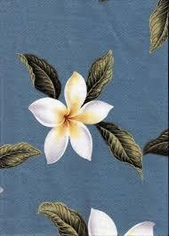 Upholstery Weight Fabric Plumeria Barkcloth Hawaii Timeless Hawaiian Fabrics For Your