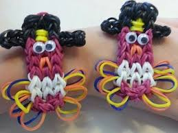 rainbow loom turkey charm bracelet new