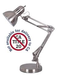 Office Desk Lamps by Alvin Fd206st Architect Desk Lamp Satin Steel Finish Retro Desk
