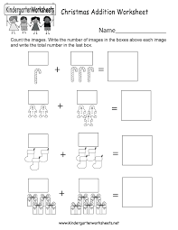 free kindergarten christmas worksheets download print or use