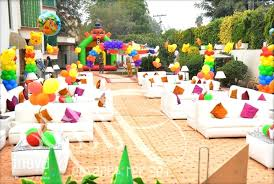 outdoor party decorations birthday themes for outdoor decoration ideas image