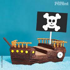 pirate ship cake kids birthday cake ideas pirate ship today s parent