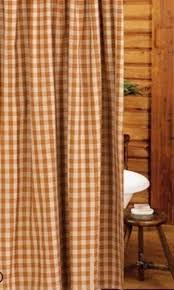 Country Bathroom Shower Curtains Country Plaid Shower Curtains Foter