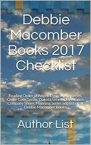 debbie macomber books 2017 checklist reading order of