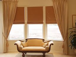 great window treatment ideas for living room living room bay bay