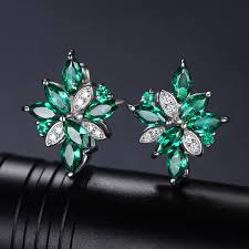 emerald earrings necklace images Jewelry mystic green created emerald jewelry set 925 sterling jpg