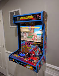 these wall mounted arcade cabinets save quarters and space technabob