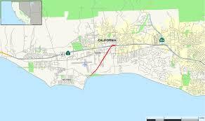 Santa Barbara Map California State Route 217 Wikipedia
