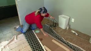 mudroom flooring options hgtv